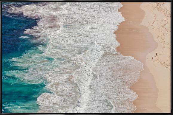 Where the Ocean Ends... - Andreas Feldtkeller ingelijste poster