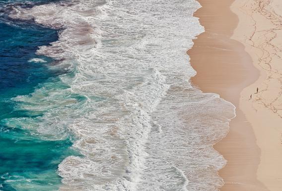 Where the Ocean Ends... - Andreas Feldtkeller -Alubild