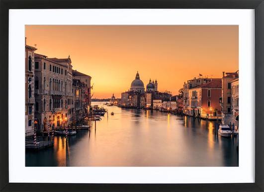 Dawn on Venice - Eric Zhang ingelijste print