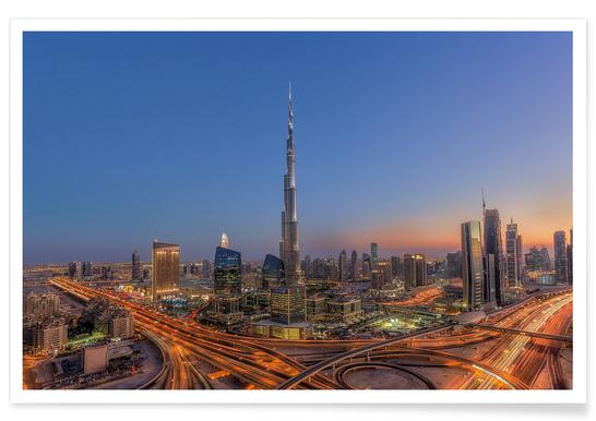 The Amazing Burj Khalifah Poster