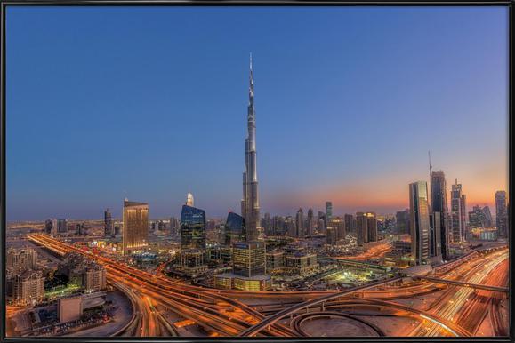 The Amazing Burj Khalifah ingelijste poster