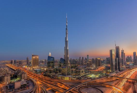 The Amazing Burj Khalifah acrylglas print
