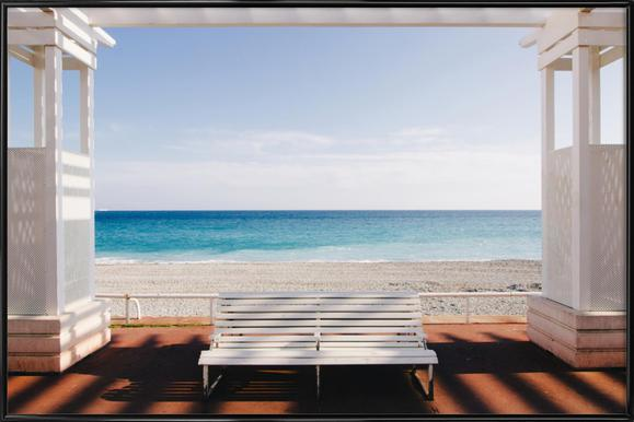 Window to the Sea Framed Poster
