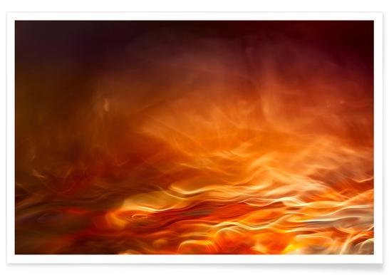 Burning Water Poster