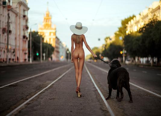 Lady with Her Dog - GeneOryx