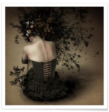 Night Scented Girl - Kiyo Murakami Poster