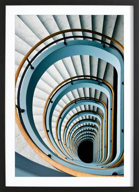 Black Hole - Jef Van den Framed Print
