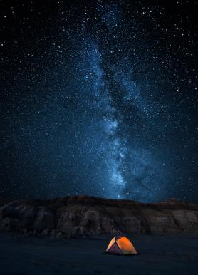 The Sky Is My Blanket - John Fan canvas doek