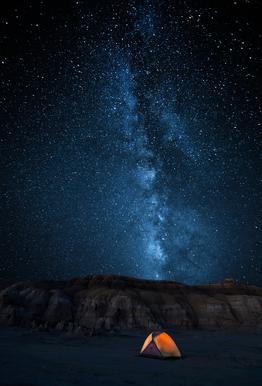 The Sky Is My Blanket - John Fan tableau en verre