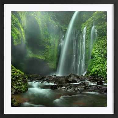 Tiu Kelep - Adhi Prayoga Framed Print