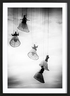 Dutch Angels - Julien Oncete affiche sous cadre en bois
