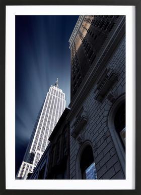 Skyscraper - Sebastien DEL GROSSO Framed Print