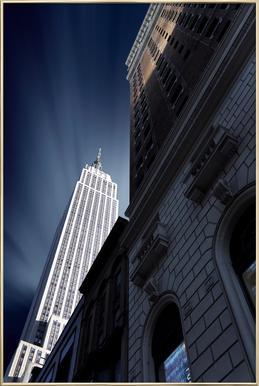 Skyscraper - Sebastien DEL GROSSO affiche sous cadre en aluminium