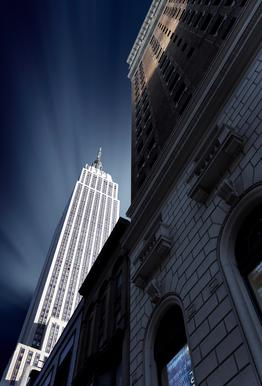 Skyscraper - Sebastien DEL GROSSO tableau en verre