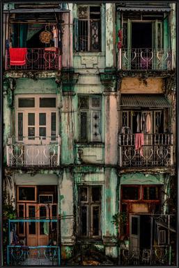 Remnants of Another Era - Marcus Blok ingelijste poster