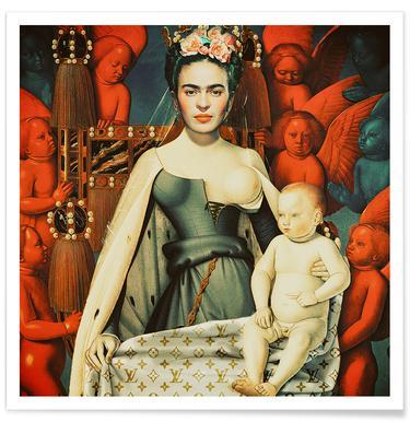 Pop Frida poster