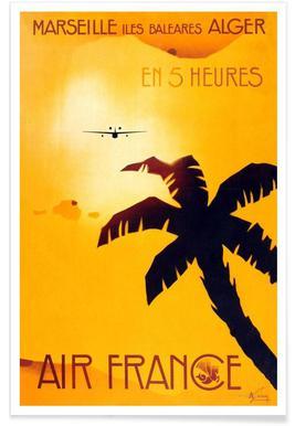 Marseille -Poster