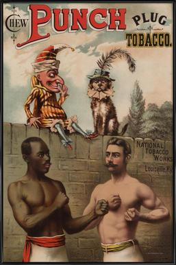 Punch And Chew, 1886 Framed Poster