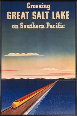 Great Salt Lake Framed Poster