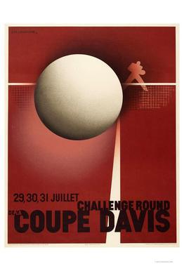 Coupe Davis -Alubild