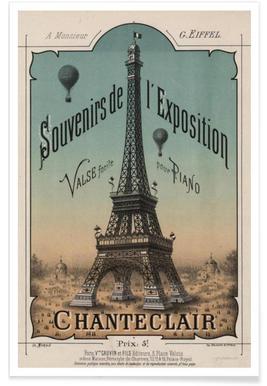 Eiffel Exposition Poster