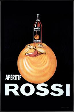 Aperitif Rossi Framed Poster
