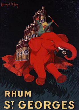 Rhum St Georges Canvas Print