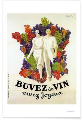 Cappiello Buvez -Poster