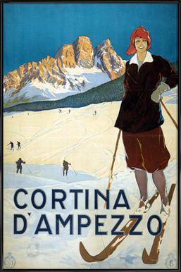Cortina d'Ampezzo Framed Poster