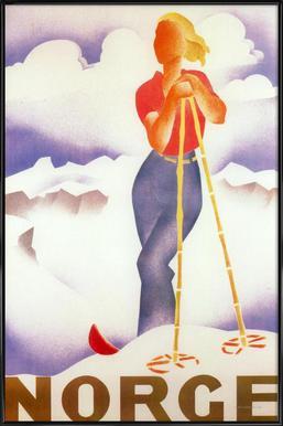 Norge Framed Poster