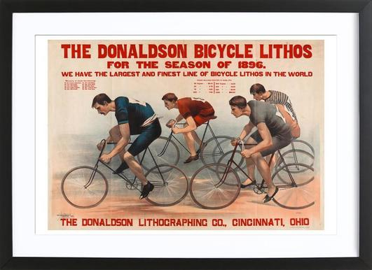 Donaldson Bicycle Framed Print