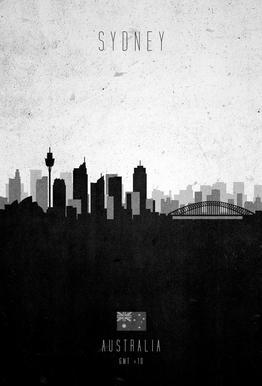 Sydney Contemporary Cityscape -Acrylglasbild