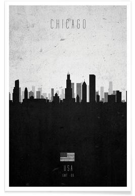 Chicago Contemporary Cityscape