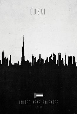 Dubai Contemporary Cityscape
