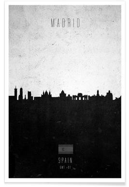 Madrid Contemporary Cityscape