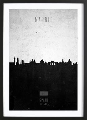 Madrid Contemporary Cityscape