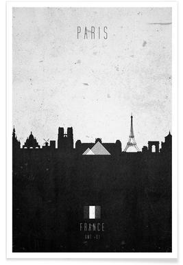 Paris Contemporary Cityscape