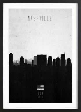 Nashville Contemporary Cityscape