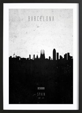 Barcelona Contemporary Cityscape