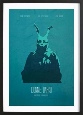 Donnie Darko -Bild mit Holzrahmen