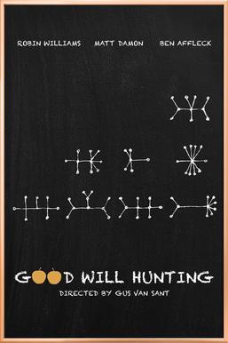 Good Will Hunting Poster in Aluminium Frame