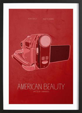 American Beauty Framed Print