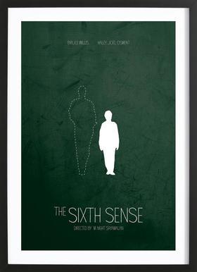The Sixth Sense -Bild mit Holzrahmen