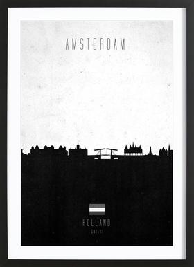 Amsterdam Contemporary Cityscape