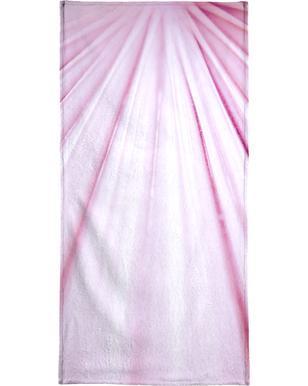 Pink Palm serviette de plage