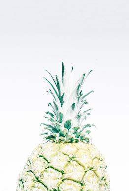 Pineapple Aluminium Print