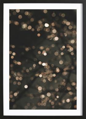 Midnight Glow Framed Print