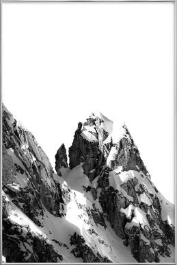 Peak Poster in Aluminium Frame