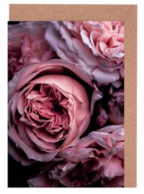 Vintage Pink Greeting Card Set