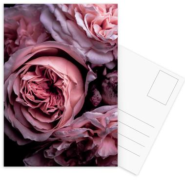 Vintage Pink Postcard Set